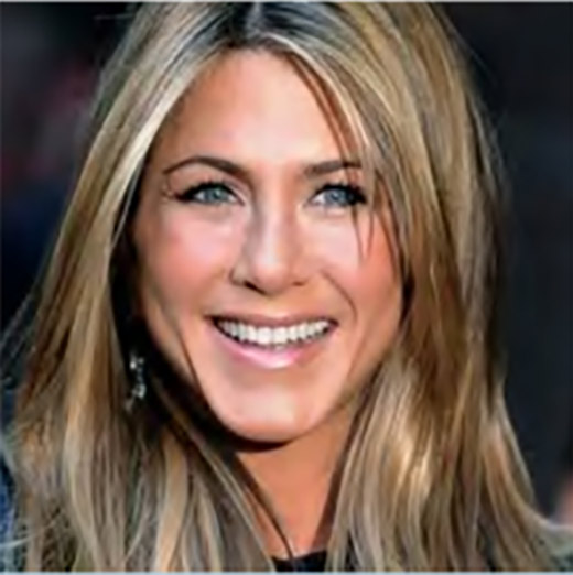 Jennifer Aniston on TM